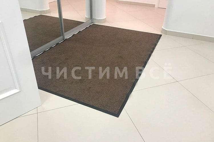 Как выбрать ковры для входной группы здания