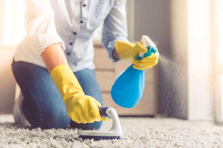 Как удалить клей с ковровых покрытий