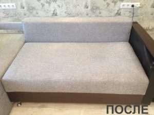 Химчистка дивана у молодой семьи