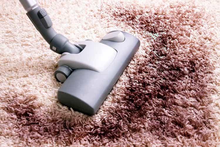 Выведение пятен с ковровых покрытий