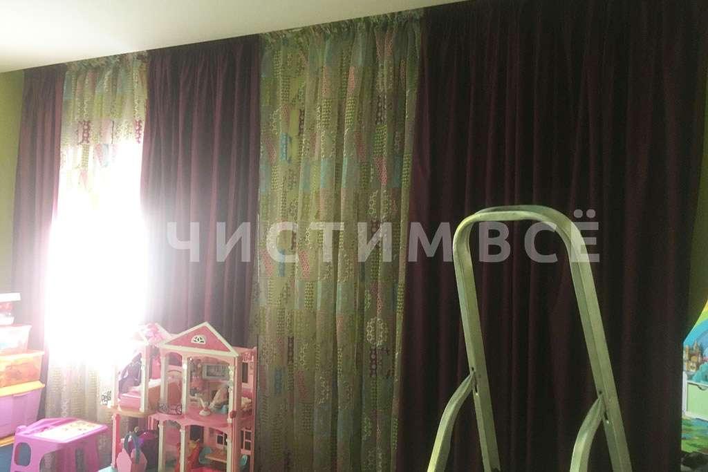 Химчистка штор в детской комнате