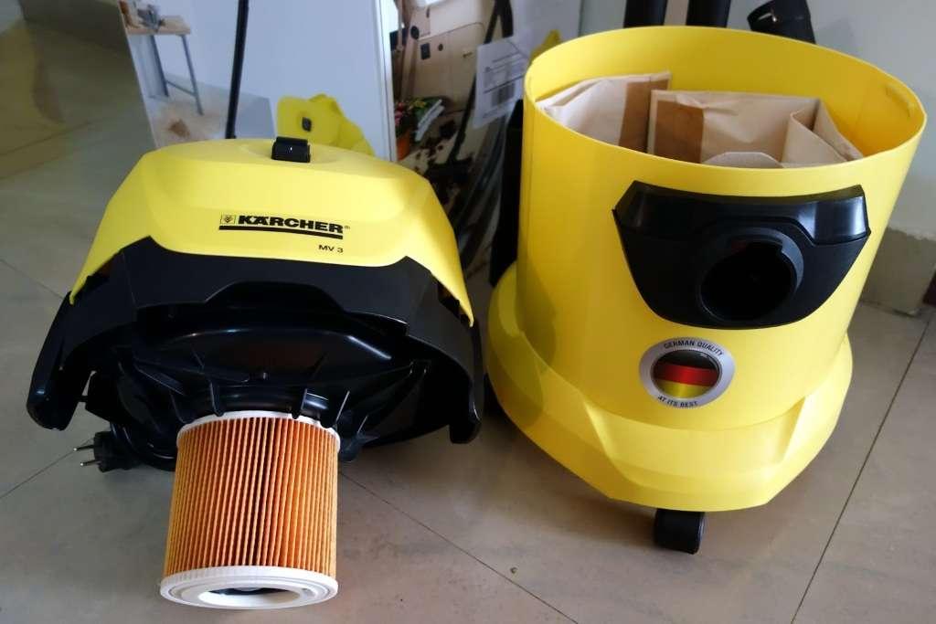 Конструкция и принцип работы моющего пылесоса