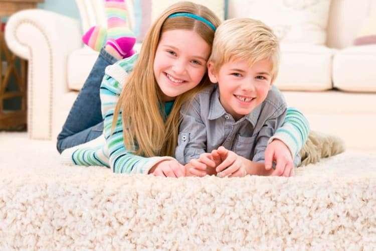 Как почистить ковролин в детской