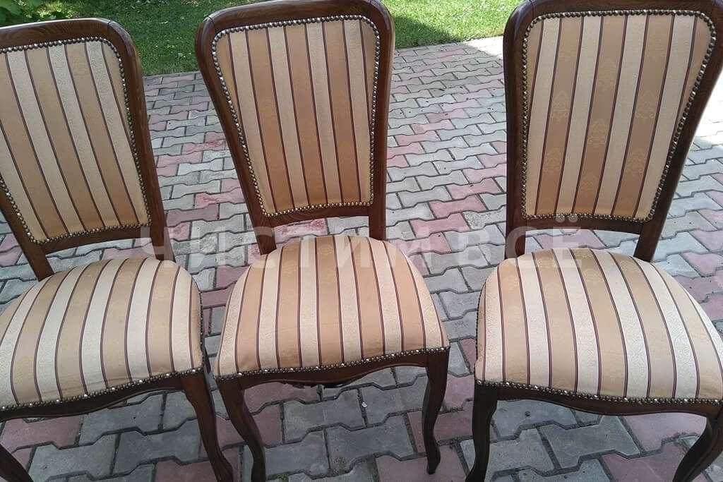 Химчистка столового гарнитура: до и после