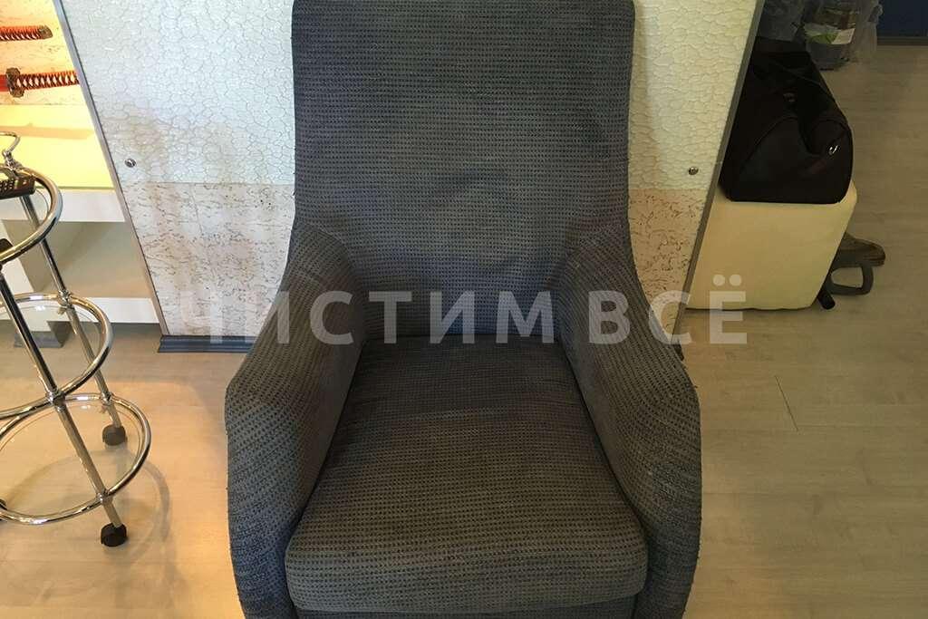 Химчистка кресла для постоянного клиента