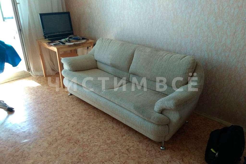 Химчистка дивана на дому для семьи Ивановых: до и после