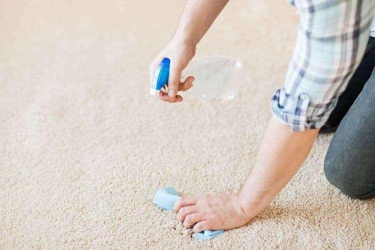 Как почистить ковер в домашних условиях уксусом