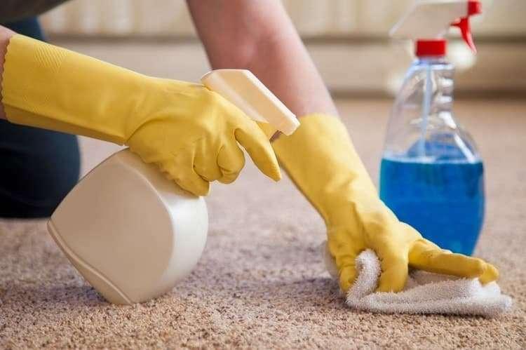 Как почистить ковер без помощи пылесоса