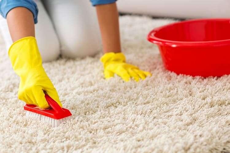 Как почистить ковер в квартире