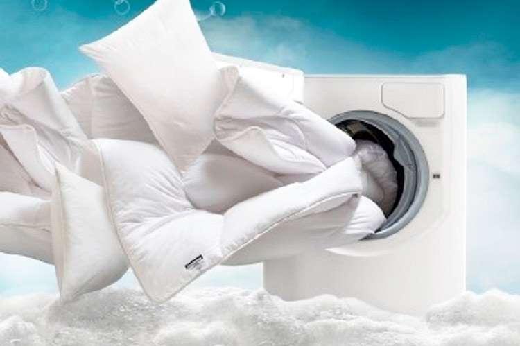 Чистим и стираем одеяло