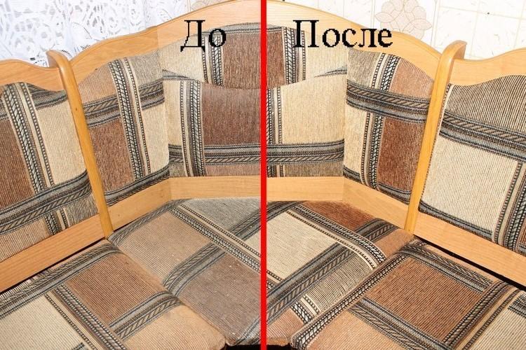 Чистка кухонной мебели для нового клиента