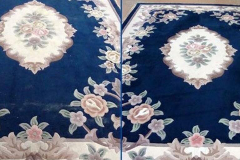Чистка ковров в квартире с собакой