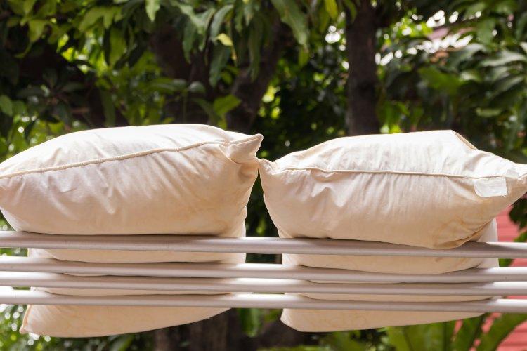 Правильная сушка подушек