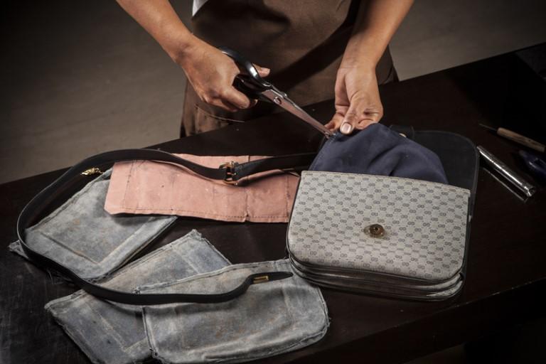 Ремонт сумочки-клатча для Натальи
